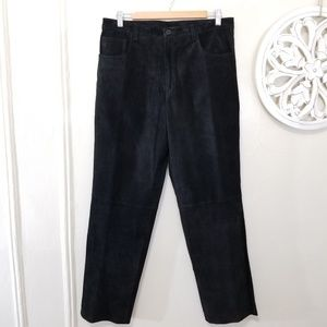 Nordstrom size 14 pants 100% leather